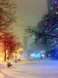 snowy Denver